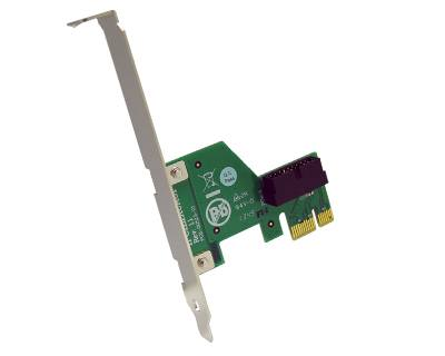 IPCIE1XCA01|Internal PCI Express x1 Cable Adapter