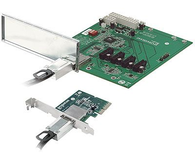 EPCIE4XE1X40 KIT|PCIe x4 to Quad PCIe x1 Expansion Kit