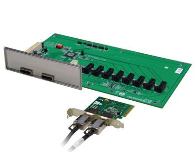 EPCIED4XE1X80 KIT|PCIe x8 to Octad PCIe x1 Expansion Kit